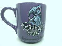 Rainforest Cafe Tuki Makeeta Elephant 20 oz. Purple Mug Loves Peanut Butter 2000