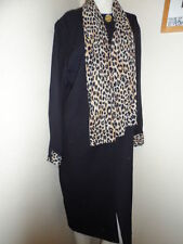 Acetate Work Animal Print Dresses for Women
