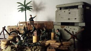 Unimax   Forces of Valor  21st Century Toy Ultimate Soldiers  diorama play set G