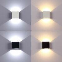 6W Aluminum Led Wall Light Sconce Lamp Bedroom Fixture Indoor Modern Simple