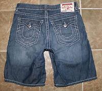 True Religion Jeans Men's Surf Denim Shorts sz 36