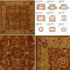 Heritage Red/Natural 6 Ft. X 6 Ft. Square Area Rug