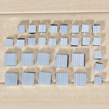 30Pcs Aluminum Heatsink Cooler Adhesive Kit Adapter for Cooling Raspberry Pi