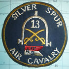 US AIR CAVALRY - Patch - 17th SILVER SPURS HELICOPTER ATTACK - Vietnam War, 1406