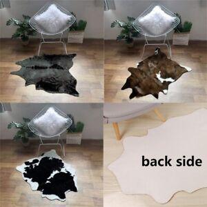 Cow Print Rug Faux Cow Rug Animal Print Carpet Door Mat Rug Cowhide Blanket New