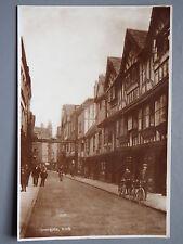 R&L Postcard: Stonegate York, Vintage Bicycles Bikes, Woolstone Bros