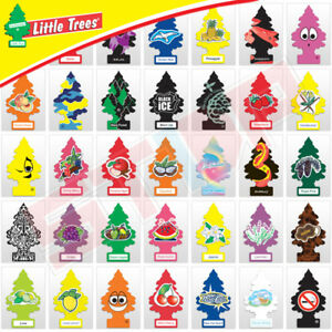 50 Little Trees WUNDER-BAUM Hanging Car  Home Air Freshener - Mix/Assorted- NEW