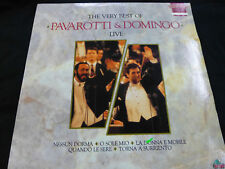 THE VERY BEST OF PAVAROTTI & DOMINGO LIVE VINYL RECORD - LIMITED EDITION 11915