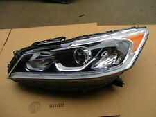2016 2017 HONDA ACCORD LEFT DRIVER HEADLIGHT HEAD LAMP HALOGEN LED OEM