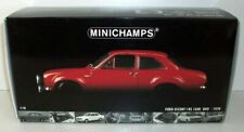 MINICHAMPS 1/18 - 100 688101 FORD ESCORT 1 RS 1600 AVO 1970 - RED