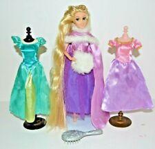 Disney Store Rapunzel Tangled Doll Luxury Boutique Winter Wardrobe Dresses Set