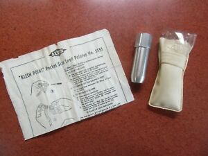 """ALVIN """"KLEEN POINT"""" POCKET SIZE LEAD POINTER NO. 5555 - WEST GERMANY"""