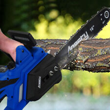 "Electric Chainsaw Garden Chain Saw 2200W Bar 40cm /16"" Bar & Chain ; Autobrake"