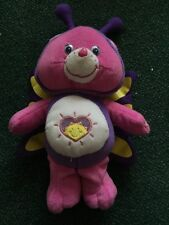 "12"" SHINE BRIGHT BUTTERFLY CARE BEAR PLUSH STUFFED ANIMAL FIGURE DOLL TEDDY"