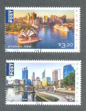 Australia-2019 Beautiful Cities fine used - cto set