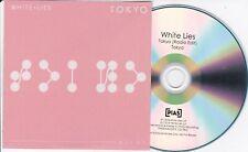 WHITE LIES TOKYO RARE 1 TRACK PROMO CD