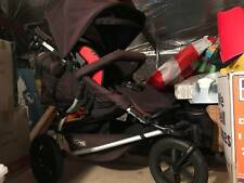 Mountain Buggy Plus One pram with covers and optional Carry-Cot