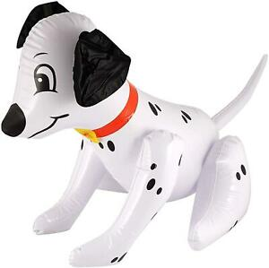"""20"""" Big Inflatable Blow Up Dalmatian Dog Stage Do Hen Party Pool Toy Accessory"""