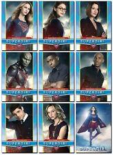 SUPERGIRL - Season 2 - CW Show - 9 Card Promo Set