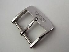 Genuine Oris 16mm Stainless Steel Pin Buckle Clasp (for 18mm straps) - New Style