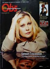 Mag 2005: VERONIQUE SANSON_ROBERT BRESSON_EMMA THOMSON