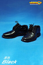 ██ VERYHOT 1/6 Figure Black Shoes Sneakers for Suit Hot Toys Body ██
