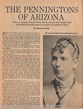 Pennington Family History & Genealogy of Arizona