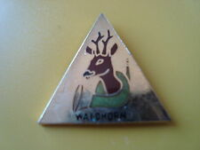 pin pins chasse chasseur waldhorn