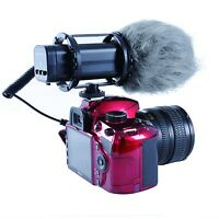 Movo VXR300 HD PRO Condenser X/Y Stereo Video Microphone for DSLR Video Camera