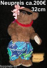 Bearly There TEDDY BÄR BEAR SAMMELBÄR SURFER GUS 32cm Linda Spiegel Lohre NEU
