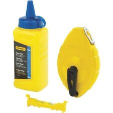 Stanley 47-443 Chalk Line Reel 100 FT L 4 Oz Capacity Plastic Blue