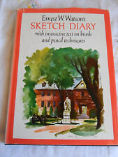 VINTAGE SKETCH DIARY BY ERNEST W. WATSON'S HARDCOVER