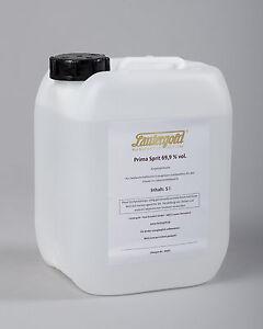 Lautergold Prima Sprit  5l 69,9% vol. Alkohol  Neutralalkohol Ethanol Primasprit