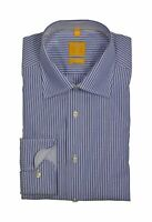 Redmond - Body Cut - Bügelfreies Herren Langarm Hemd, Blau gestreift (22420 110)