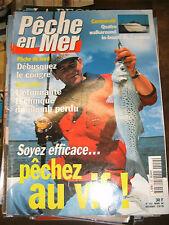 La pêche en mer N°152 Débusquer le congre Technique du plomb perdu Pêche au vif