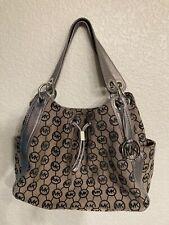 Micheal KorsSignature Taupe and Siver Handbag