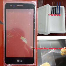 Outer Front Screen Glass Lens fo LG Fortune M153/Phoenix 3 M150/K4 2017 M160 OCA