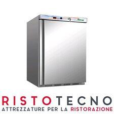 Armadio Frigo Refrigerato Acciaio inox - 200 Lt.- Statico +2°/+8°C professionale