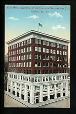 Buffalo, New York NY Vintage postcard New Office Building Iroquois Natural Gas