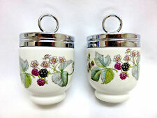 """PAIR of Royal Worcester England """"Lavinia"""" Egg Coddlers"""