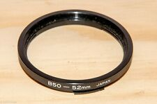 Hasselblad Bay 50 to 52mm filter adapter ring - made in Japan
