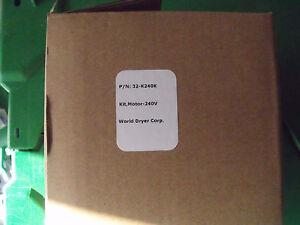 World Hand dryers SMARTdri  P/N 32-K240K Kit, Motor Kit 240v