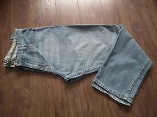 Hommes Garçon Cherokee @ Designer Coupe Droite Bleu Délavé Jeans W38 L32