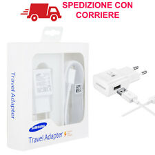 Caricabatterie Alimentatore Originale Samsung Fast Charger Charging Carica Micro