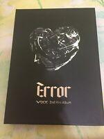 VIXX 2nd Mini Album Error CD CMCC10424 Jellyfish Entertainment CJ E&M 2014 K-POP