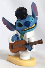Disney Authentic ELVIS STITCH FIGURINE Cake TOPPER LILO & STITCH Pvc Toy NEW