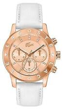 NEW LACOSTE 2000831 LADIES ROSE GOLD CHARLOTTE WATCH - 2 YEAR WARRANTY