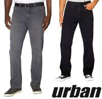 Urban Star Men's Relaxed Fit Straight Leg Jeans variety H162