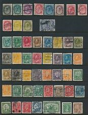 Canada **(50+) ALL DIFFERENT (1898 - 1935)**; MOSTLY USED; CV $500