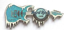 Hard Rock Cafe Pin Badge Copenhagen 2014 Ice Guitar